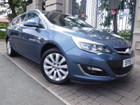 USED 2015 15 VAUXHALL ASTRA 1.6 ELITE 5d AUTO 113 BHP *** FINANCE & PART EXCHANGE WELCOME *** 1 OWNER FROM NEW AUTOMATIC FULL BLACK LEATHER HEATED SEATS PARKING SENSORS AIR/CON CRUISE CONTROL
