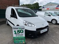 2014 PEUGEOT PARTNER 1.6 HDI S L1 850 89 BHP NO VAT TO PAY ON THIS VAN 6 MONTHS RAC WARRANTY £4995.00