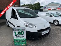 USED 2014 14 PEUGEOT PARTNER 1.6 HDI S L1 850 89 BHP NO VAT TO PAY ON THIS VAN 6 MONTHS RAC WARRANTY NO VAT TO PAY ON THIS VAN 6 MONTHS RAC WARRANTY