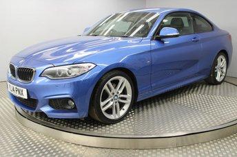 2014 BMW 2 SERIES 2.0 220D M SPORT 2d 181 BHP £13000.00