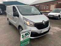 2015 RENAULT TRAFIC 1.6 SL27 BUSINESS PLUS ENERGY DCI 120 BHP 1 OWNER FROM NEW AIR CON  £8995.00