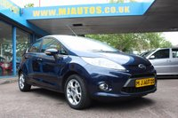 USED 2011 61 FORD FIESTA 1.25 ZETEC 5dr 81 BHP NEED FINANCE??? APPLY WITH US!!!