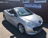 USED 2008 58 PEUGEOT 207 1.6 CC GT SPORT 2d 108 BHP COUPE CABRIOLET CONVERTIBLE 72K MILES DIESEL