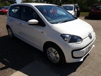 USED 2013 13 VOLKSWAGEN UP 1.0L MOVE UP 5d 59 BHP Great economical car. Ideal for a first car, low insurance and cheap to run!