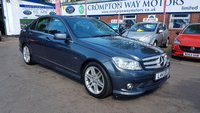 USED 2009 59 MERCEDES-BENZ C CLASS 1.6 C180 KOMPRESSOR BLUEEFFICIENCY AMG SPORT 4d AUTO 156 BHP 0%  FINANCE AVAILABLE ON THIS CAR PLEASE CALL 01204 393 181