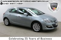 """USED 2013 13 VAUXHALL ASTRA 2.0 ELITE CDTI 5d 163 BHP Finished in stunning Blue Metallic with Black Full Leather seats, 17"""" Alloy Wheels, Parking Sensors and Full Service History with 2X Vauxhall Stamps. Heated Seats, Stop/Start, Climate Control, Cruise Control, Air Con, Multi Function Wheel"""