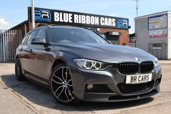 2013 BMW 3 SERIES 3.0 330D XDRIVE M SPORT TOURING 5d AUTO 255 BHP £16990.00