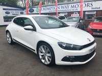 USED 2011 11 VOLKSWAGEN SCIROCCO 2.0 GT TDI BLUEMOTION TECHNOLOGY 2d 140 BHP 0%  FINANCE AVAILABLE ON THIS CAR PLEASE CALL 01204 393 181