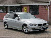 2014 BMW 3 SERIES 320D EFFICIENTDYNAMICS (SAT NAV+£2,870 OF EXTRAS) TOURING 5dr £7690.00