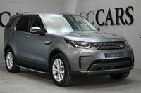 USED 2017 17 LAND ROVER DISCOVERY 3.0 TD6 SE 5d AUTO 255 BHP A Fantastic Low Mileage Example 7 Seat SUV that Combines Everyday Practicality with Style & Luxury. Presented in Corris Grey with 19 Inch Alloy Wheels and a Full Black Leather Interior. Features Include; Heated Electric Seats, HDD Satellite Navigation,  Bluetooth Connectivity, DAB Radio, Land Rover Fitted Sided Steps, Automatic Bi-Xenon Headlights, Headlight Washers, Heated Washer Jets, Heated Windscreen, Rain Sensitive Wipers, LED Signature, Power Wash, Remote Power Tailgate, Front & Rear Park