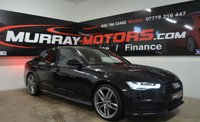 2016 AUDI A6 2.0 TDI ULTRA BLACK EDITION AUTO 190ps *SAT NAV* £20495.00