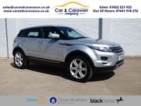 USED 2013 13 LAND ROVER RANGE ROVER EVOQUE 2.2 SD4 PURE TECH 5d AUTO 190 BHP 1 Owner Full LandRover History Buy Now, Pay Later Finance!