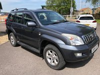 USED 2005 05 TOYOTA LAND CRUISER 3.0 LC5 8-SEATS D-4D 5d AUTO 164 BHP