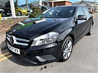 2013 MERCEDES-BENZ A CLASS 1.5 A180 CDI BLUEEFFICIENCY SPORT 5d 109 BHP £12495.00