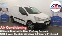 2015 CITROEN BERLINGO 1.6 HDi 90 BHP 850 ENTERPRISE with Air Conditioning, 3 Seats Bluetooth Connectivity, Electric Windows/Mirrors, Rear Parking Sensors £5680.00