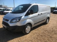 USED 2015 15 FORD TRANSIT CUSTOM 2.2 330 LR P/V 1d 124 BHP DIRECT FROM THE AA AIR/CON CRUISE CONTROL TAIL GATE F.S.H