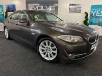 USED 2010 60 BMW 5 SERIES 2.0 520D SE 4d AUTO 181 BHP F/S/H, IMMACULATE EXAMPLE!!