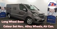 USED 2016 16 VAUXHALL VIVARO 1.6 2900 CDTI SPORTIVE 120 BHP LONG WHEELBASE, Colour Navigation, Alloy Wheels, Air Con, Cruise Control, Bluetooth, Dab Radio and much more......  **Drive Away Today** Over The Phone Low Rate Finance Available, Just Call us on 01709 866668**