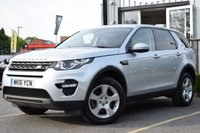 2016 LAND ROVER DISCOVERY SPORT 2.0 TD4 SE TECH 5d 150 BHP £17995.00