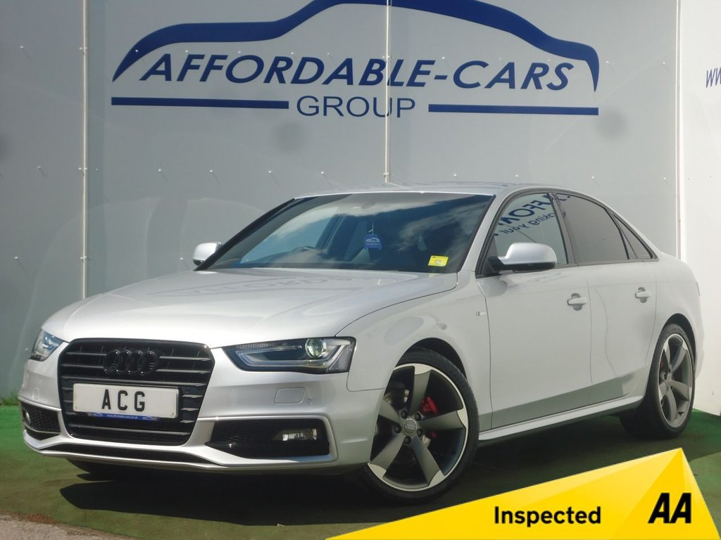 USED 2014 14 AUDI A4 2.0 TDI BLACK EDITION 4d 174 BHP