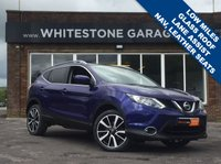 USED 2015 15 NISSAN QASHQAI 1.6 DCI TEKNA 5d 128 BHP £30 TAX, SAT NAV, GLASS SUNROOF, HEATED LEATHER SEATS, CRUISE+CLIMATE CONTROL, LANE ASSIST, BLIND SPOT ASSIST, 360CAMERAS.