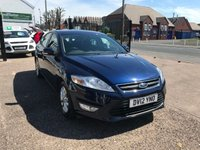 USED 2012 12 FORD MONDEO 2.0 ZETEC TDCI 5d 138 BHP 1 OWNER-BLUETOOTH-DIESEL-SERVICE HISTORY-12 MONTHS MOT