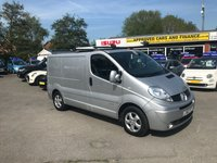 2012 RENAULT TRAFIC 2.0L SL27 SPORT DCI S/R 0d 115 BHP IN METALLIC SILVER WITH A FULL SERVICE HISTORY!(NO VAT) £7999.00
