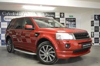 USED 2011 11 LAND ROVER FREELANDER 2.2 SD4 SPORT LE 5d AUTO 190 BHP 2 FORMER KEEPERS with FULL SERVICE HISTORY & AN APRIL 2020 MOT. The Sport limited edition of the Land Rover Freelander 2 uses the new 187bhp 2.0-litre turbo diesel engine, and comes beautifully presented in the exclusive Firenze Red metallic. On the inside it comes with two- one leather. With just 500 of this model produced you not only have the chance to buy a huge spec Freelander, but a piece of motoring history