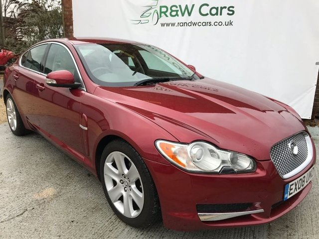 2008 08 JAGUAR XF 2.7 PREMIUM LUXURY V6 2008
