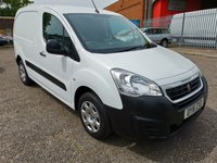 2016 PEUGEOT PARTNER 850 1.6 HDI PROFESSIONAL *AIR CON*ONLY 15000 MILES* £SOLD