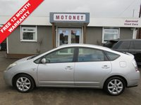 USED 2007 56 TOYOTA PRIUS 1.5 T3 VVT-I 5DR AUTOMATIC 77 BHP+++£20 ROAD TAX+++