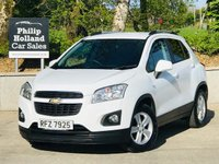 USED 2014 CHEVROLET TRAX 1.6 LT 5d 113 BHP Rear parking sensors, Bluetooth, Rear privacy glass