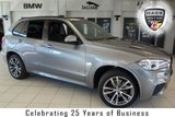 USED 2014 14 BMW X5 3.0 XDRIVE40D M SPORT 5d AUTO 309 BHP FINISHED IN STUNNING SPACE GREY WITH FULL BLACK LEATHER SEATS + FULL SERVICE HISTORY + PRO SATELLITE NAVIGATION + PANORAMIC ROOF + REVERSE CAMERA + 20 INCH ALLOYS + 7 SEATER + XENON HEADLIGHTS + FULL ELECTRIC HEATED FRONT SEATS WITH MEMORY FUNCTION + DAB RADIO + BLUETOOTH + AUTO AIR CONDITIONING