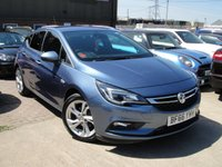 USED 2016 66 VAUXHALL ASTRA 1.0 SRI ECOFLEX S/S 5d 104 BHP ANY PART EXCHANGE WELCOME, COUNTRY WIDE DELIVERY ARRANGED, HUGE SPEC