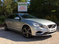 """USED 2011 11 VOLVO V60 2.0 D3 R-DESIGN 5dr AUTO PDC, Cruise, 18"""" Alloys"""