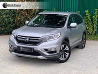 USED 2015 15 HONDA CR-V 1.6 I-DTEC SR 5d 118 BHP SATELITE NAVIGATION