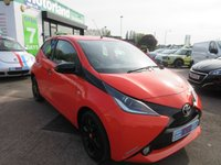 USED 2014 64 TOYOTA AYGO 1.0 VVT-I X-CITE 5d 69 BHP **CALL 01543 454566 FOR MORE INFO**
