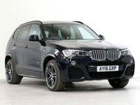 2016 BMW X3 3.0 xDrive30d M Sport PLUS 5d AUTO 255 BHP [£7,060 OPTIONS] £25893.00