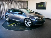 USED 2013 13 VAUXHALL ASTRA 1.4 GTC SPORT S/S 3d 138 BHP £0 DEPOSIT FINANCE AVAILABLE, AIR CONDITIONING, AUX INPUT, BLUETOOTH CONNECTIVITY, CLIMATE CONTROL, CRUISE CONTROL, DAB RADIO, STEERING WHEEL CONTROLS, USB INPUT