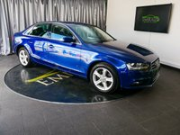 USED 2013 13 AUDI A4 2.0 TDI SE TECHNIK 4d AUTO 141 BHP £0 DEPOSIT FINANCE AVAILABLE, AIR CONDITIONING, AUTOMATIC HEADLIGHTS, BLUETOOTH CONNECTIVITY, CLIMATE CONTROL, CRUISE CONTROL, ELECTRONIC PARKING BRAKE, PARKING SENSORS, SATELLITE NAVIGATION, START/STOP SYSTEM, STEERING WHEEL CONTROLS, TRIP COMPUTER