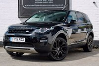 USED 2015 15 LAND ROVER DISCOVERY SPORT 2.2 SD4 HSE LUXURY 5d AUTO 190 BHP BLACK PACK