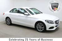 "USED 2017 17 MERCEDES-BENZ C CLASS 2.1 C 220 D SPORT 4d AUTO 170 BHP Finished in stunning White Metallic with Beige Full Leather, 17"" Alloy Wheels, Parking Sensors, Reversing Camera, 1 Owner and Service History. Sat Nav Ready, Bluetooth, DAB Radio, Climate, Cruise, Multi Function Wheel, Heated Seats, Electric Seats"