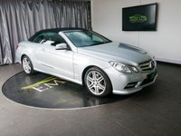 USED 2012 61 MERCEDES-BENZ E CLASS 2.1 E250 CDI BLUEEFFICIENCY SPORT ED125 2d AUTO 204 BHP £0 DEPOSIT FINANCE AVAILABLE, AIR CONDITIONING, AUX INPUT, BLUETOOTH CONNECTIVITY, CLIMATE CONTROL, CONVERTIBLE ROOF, CRUISE CONTROL, ELECTRONIC PARKING BRAKE, FULL LEATHER UPHOLSTERY, HEATED SEATS, PARKING SENSORS, SATELLITE NAVIGATION, STEERING WHEEL CONTROLS, TRIP COMPUTER