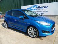 USED 2015 15 FORD FIESTA 1.0 EcoBoost Zetec S (s/s) 3dr LOW TAX , FINANCE AVAILABLE!