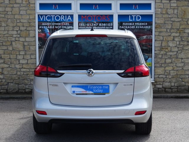 VAUXHALL ZAFIRA TOURER at Victoria Motors Ltd