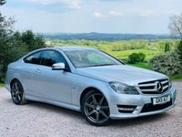 2011 MERCEDES-BENZ C CLASS 2.1 C220 CDI BLUEEFFICIENCY AMG SPORT 2d 170 BHP £7485.00