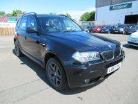 USED 2007 P BMW X3 2.0 D M SPORT 5d 148 BHP