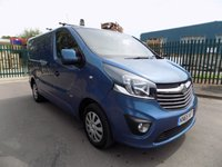 USED 2015 65 VAUXHALL VIVARO 1.6 2700 L1H1 CDTI P/V SPORTIVE 1d 114 BHP VAN ***Nationwide Delivery Available***