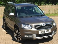 USED 2015 15 SKODA YETI 2.0 OUTDOOR LAURIN AND KLEMENT 4X4 TDI CR 5d 168 BHP