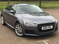 2015 AUDI TT 2.0 TDI ULTRA SPORT 2d 182 BHP £14295.00